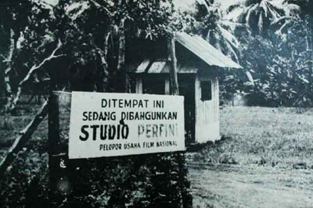 Studio Perfini di Mampang Tahun 1953   Foto : usmar.perfilman.perpusnas.go.id