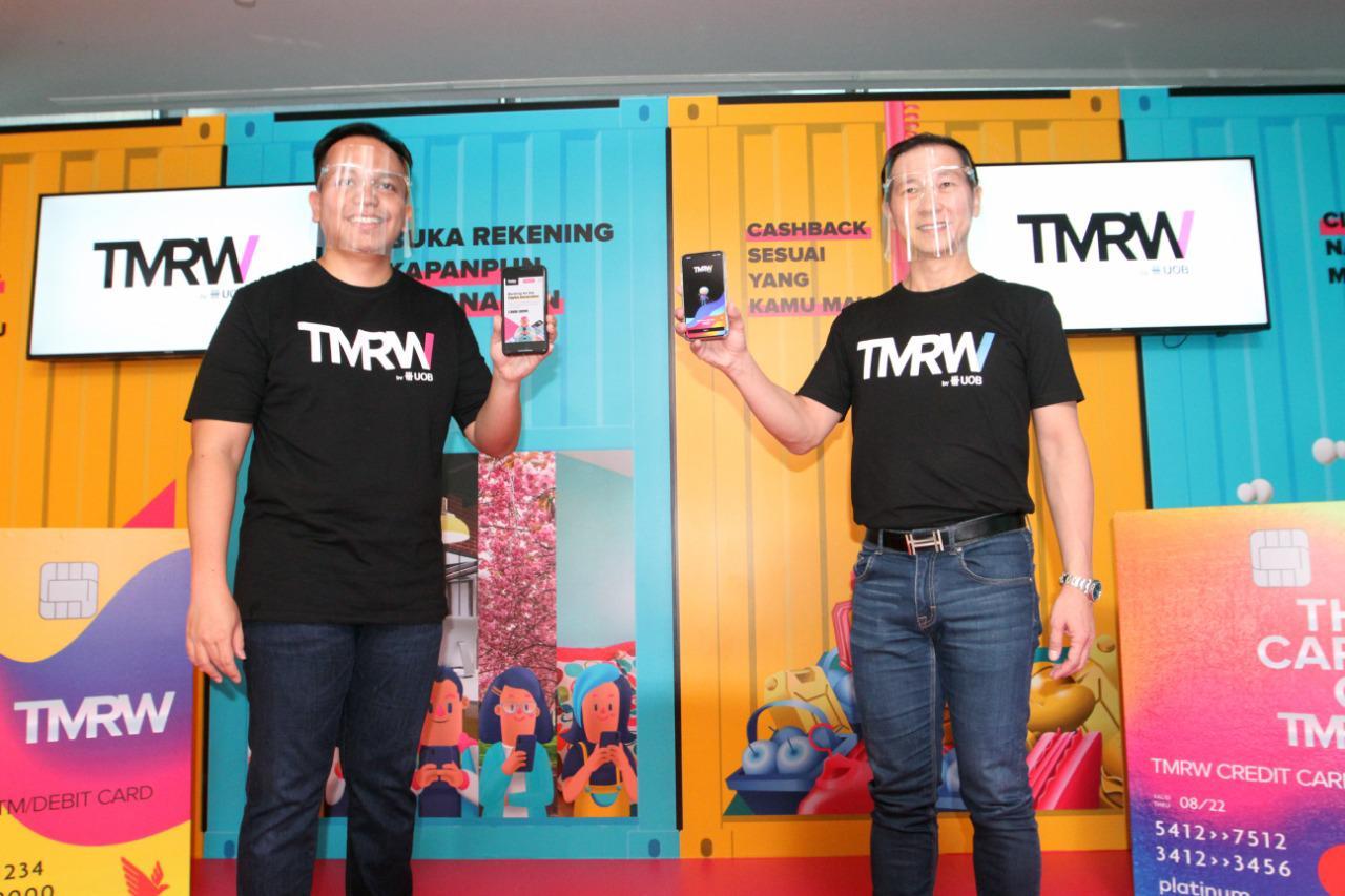 Peluncuran Bank TMRW