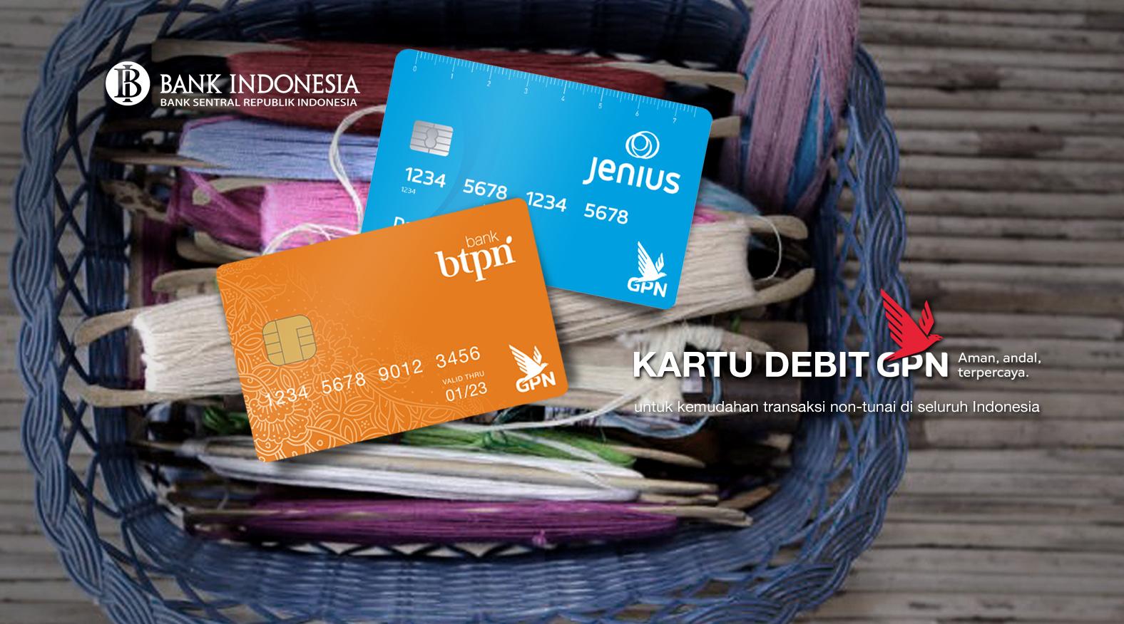 Kartu bank Jenius dan BTPN