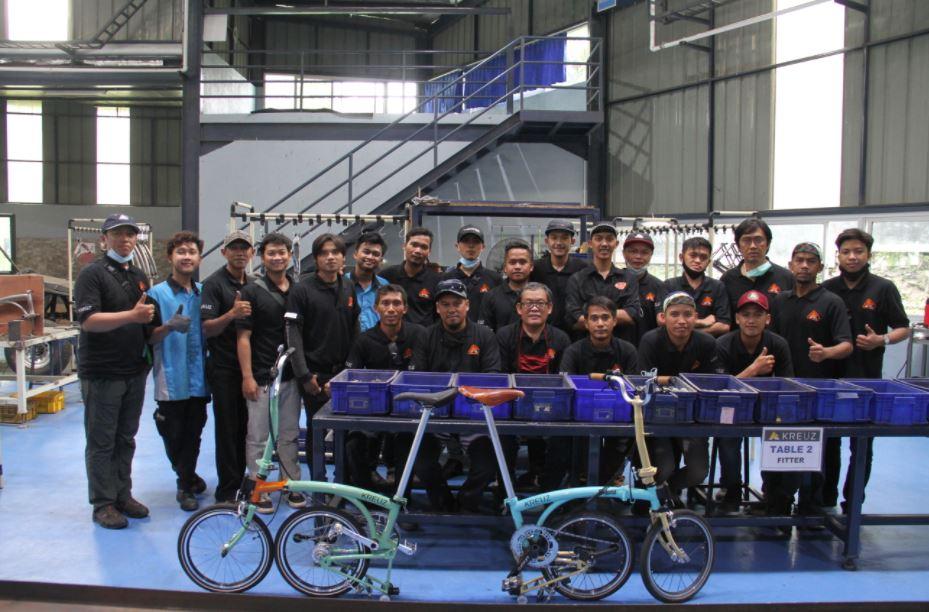 Pabrik sepeda lipat Kreuz Bike Bandung   kreuzindonesia.id