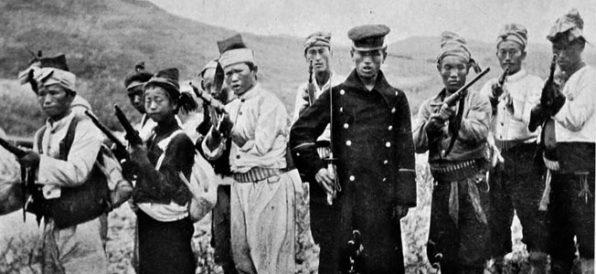 Gerilyawan kemerdekaan Korea melawan Jepang 1907, sebelum Korea resmi dikuasai Jepang| warfarehistorynetwork