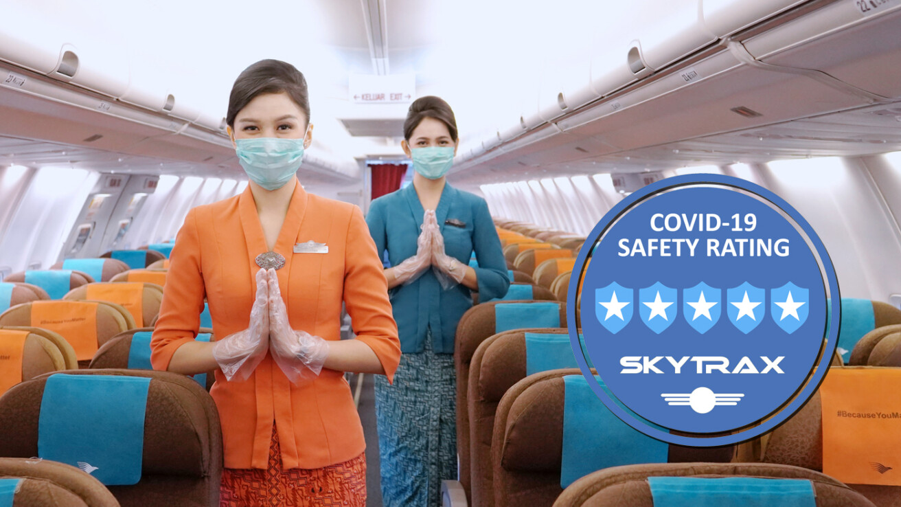 Penghargaan 5-Star Covid-19 Airline Safety Skytrax