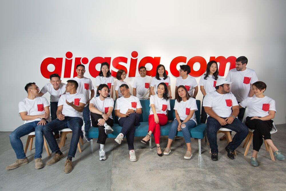 jajaran manajemen AirAsia Digital yang menanungi airasia super app