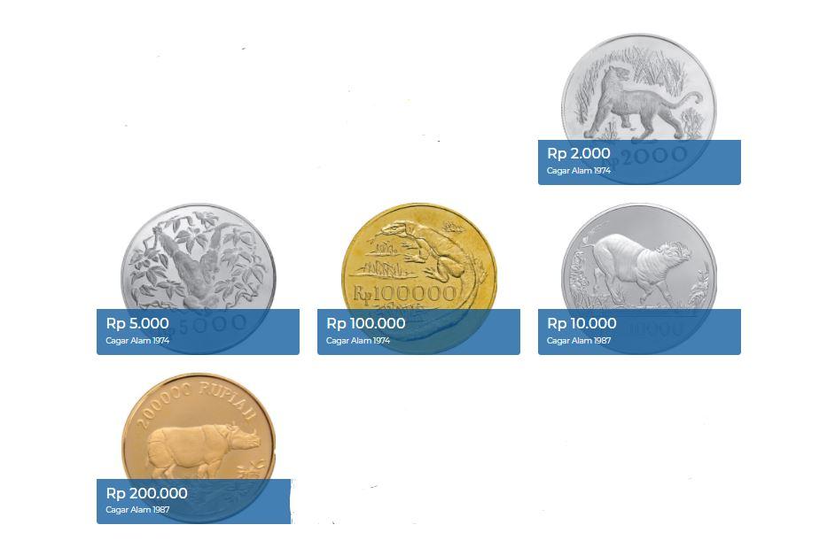 5 uang logam edisi khusus cagar alam