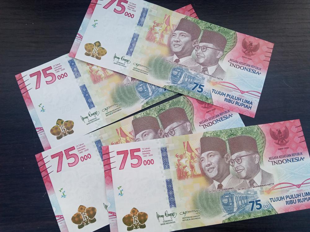 uang kertas edisi khusus HUT RI ke-75
