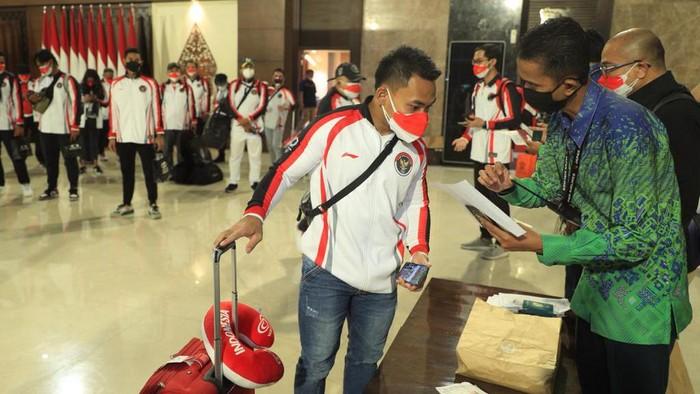 Atlet Indonesia berangkat ke Tokyo