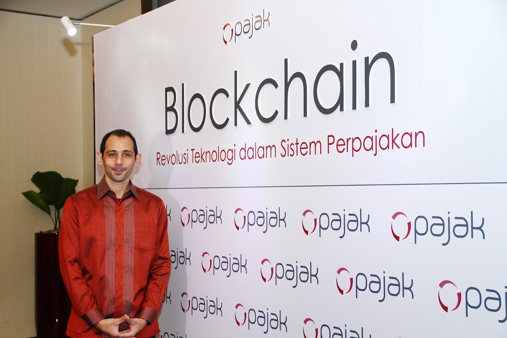 CEO sekaligus Founder OnlinePajak, Charles Guinot   Dok. OnlinePajak