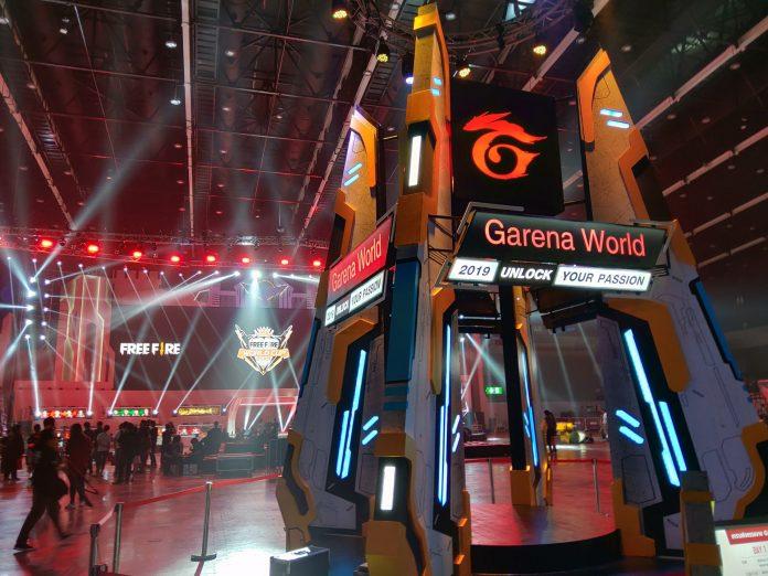 Salah satu kompetisi turnamen eSport Garena di tahun 2019