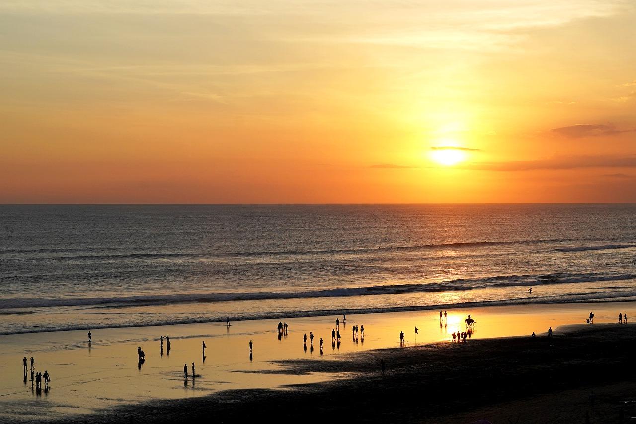 Ilustrasi pantai di Bali   @Hartono Subagio Pixabay