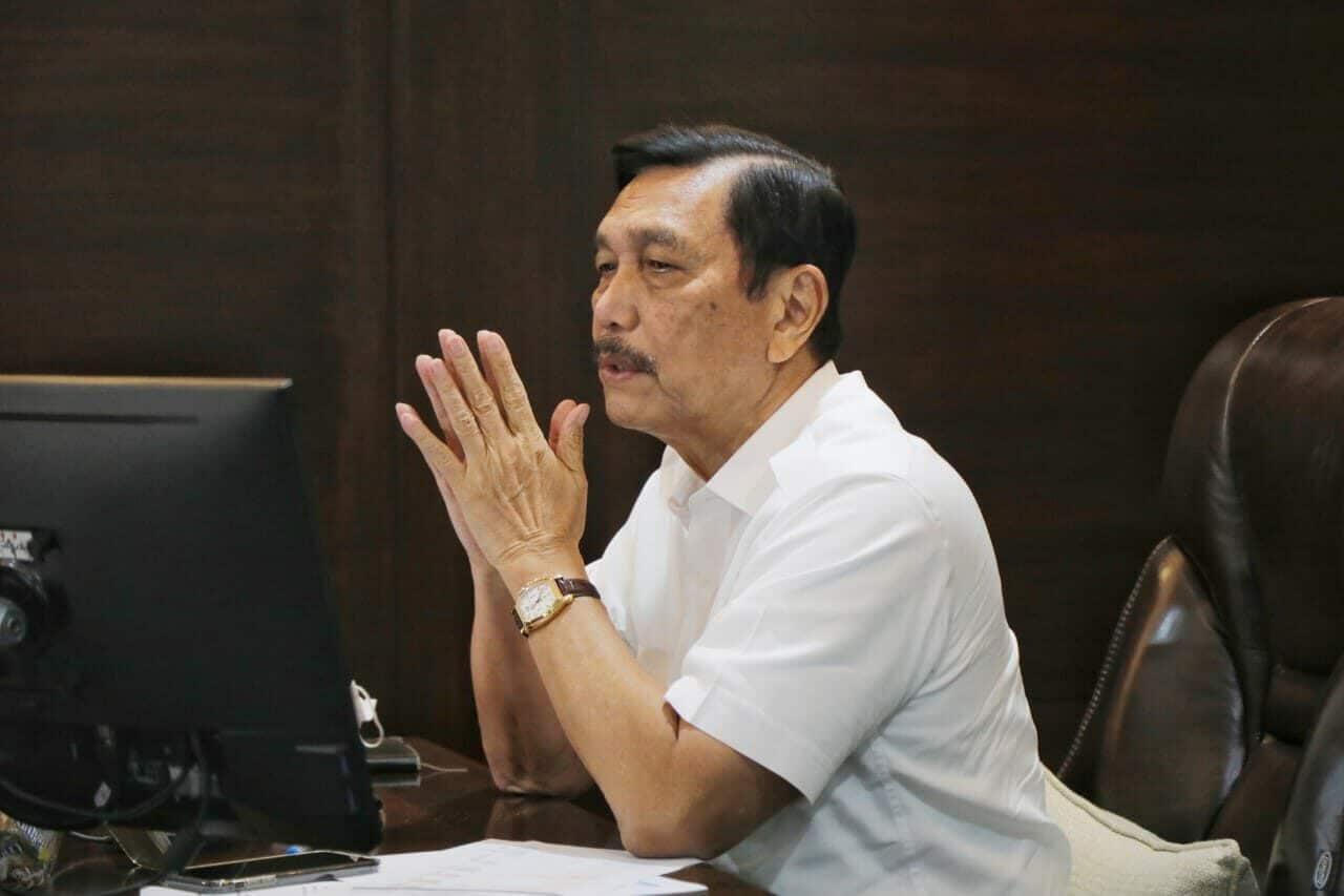Menteri Koordinator Kemaritiman dan Investasi - Luhut Binsar Pandjaitan