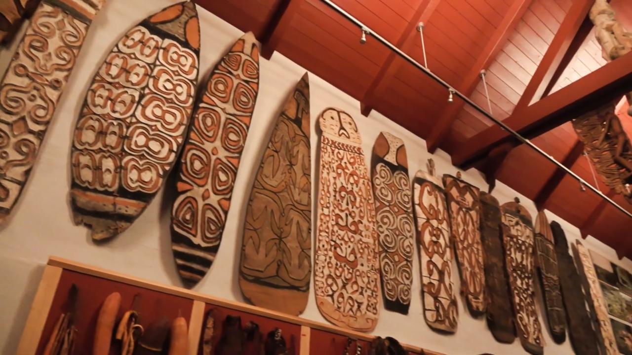 Koleksi di Museum Papua dan Rumah Budaya Indonesia