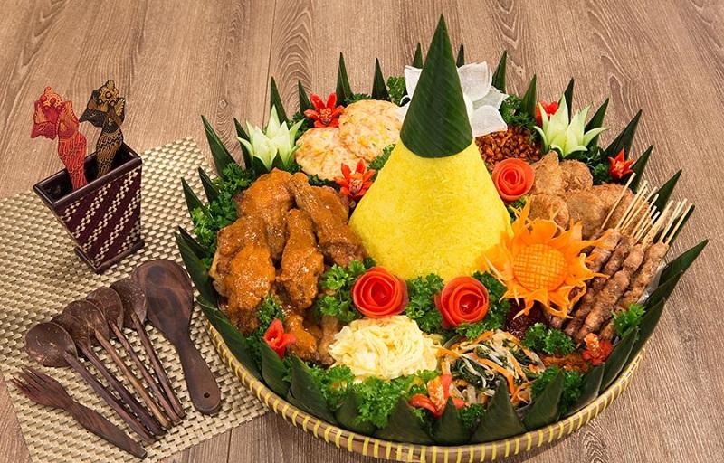 Nasi tumpeng   Foto: Okezone