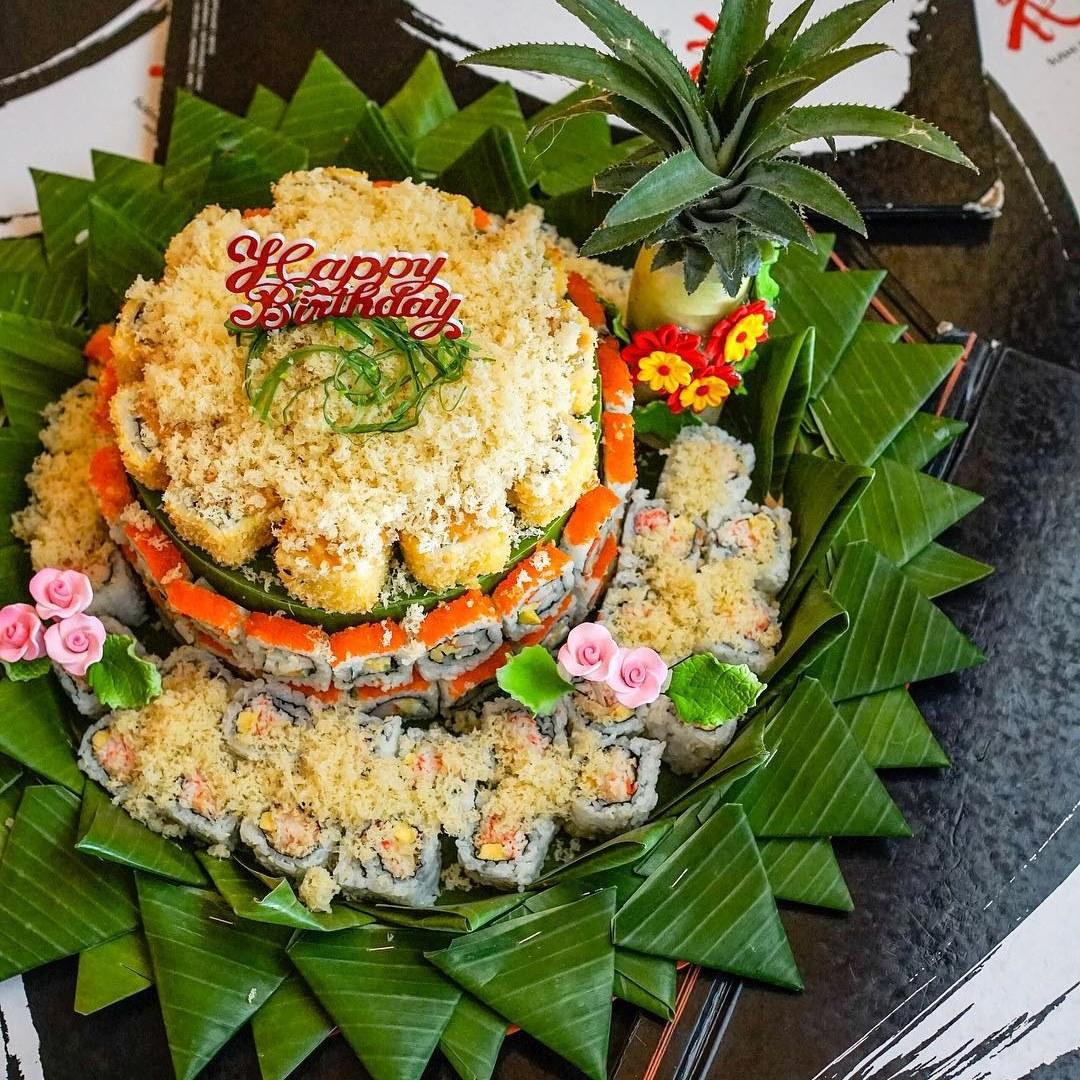 Tumpeng sushi   Foto: travelingyuk