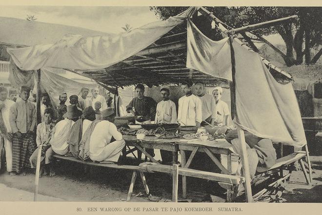 Rumah Makan Padang | Situs KITLV