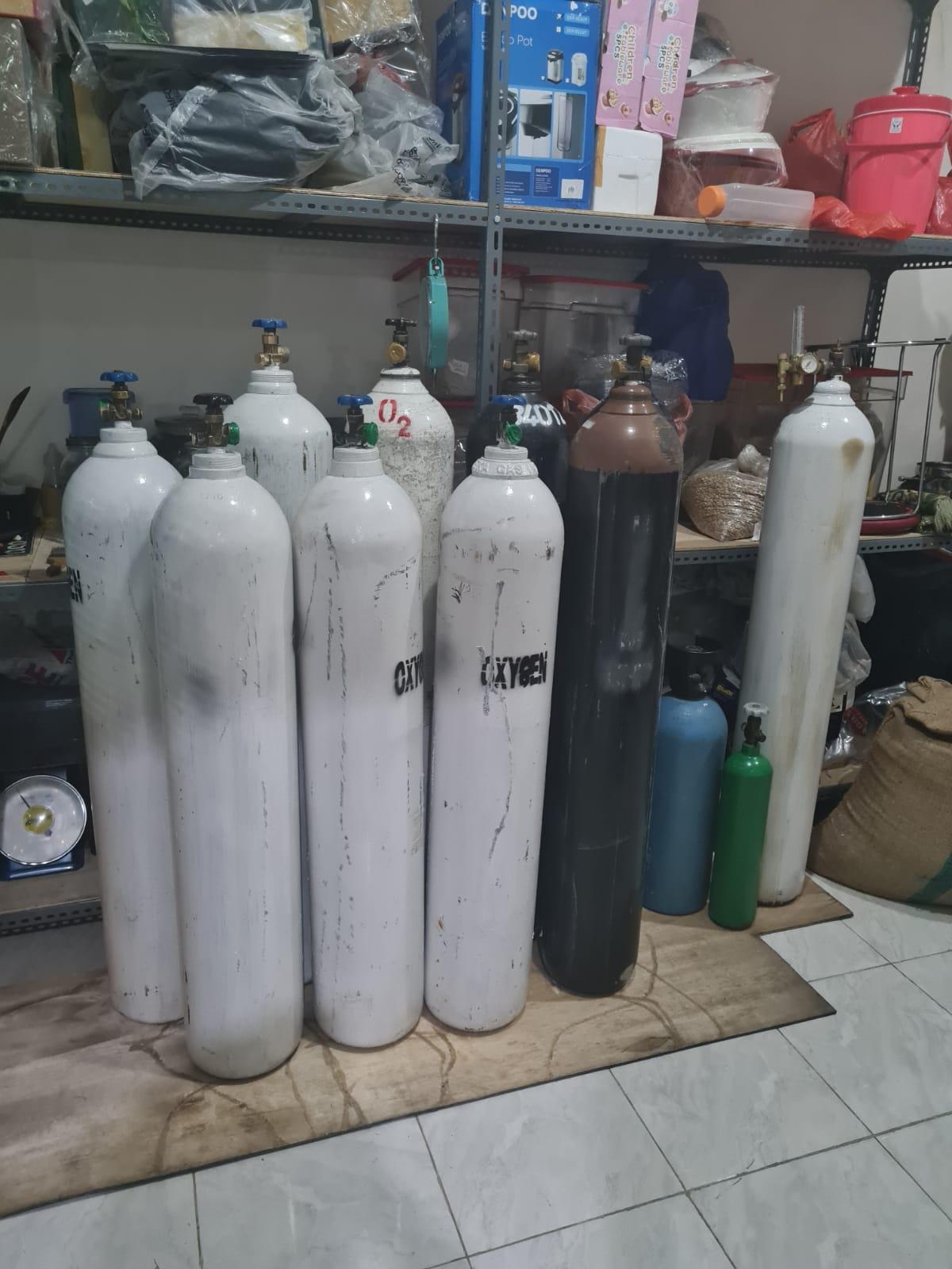Tabung oksigen   Dokumentasi pribadi Ronald Angga Poernama