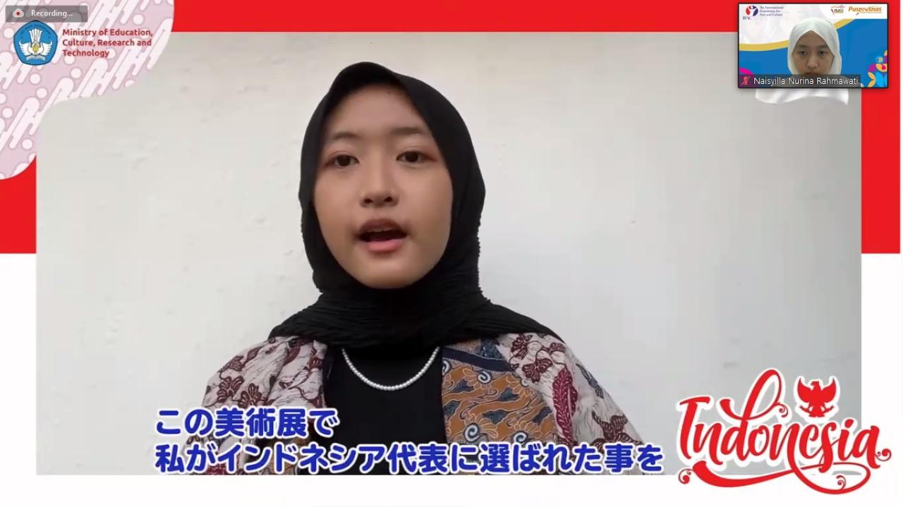 Pelajar Indonesia berprestasi, Naisyilla Nurina Rahmawati   Dok Kemendikbudristek.