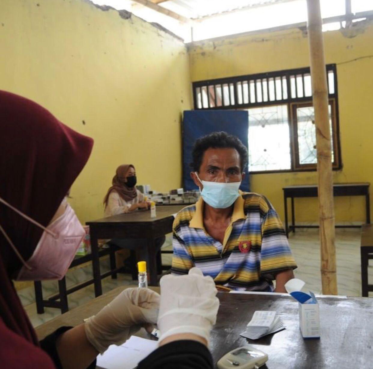 Program kesehatan dalam aksi sosial yang dilakukan IDE Indonesia