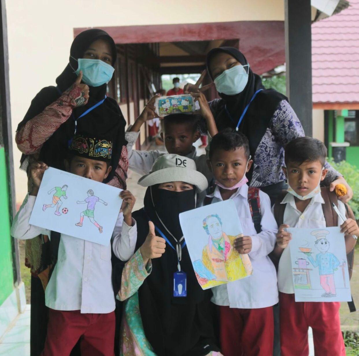 Program pendidikan yang dilakukan IDE Indonesia