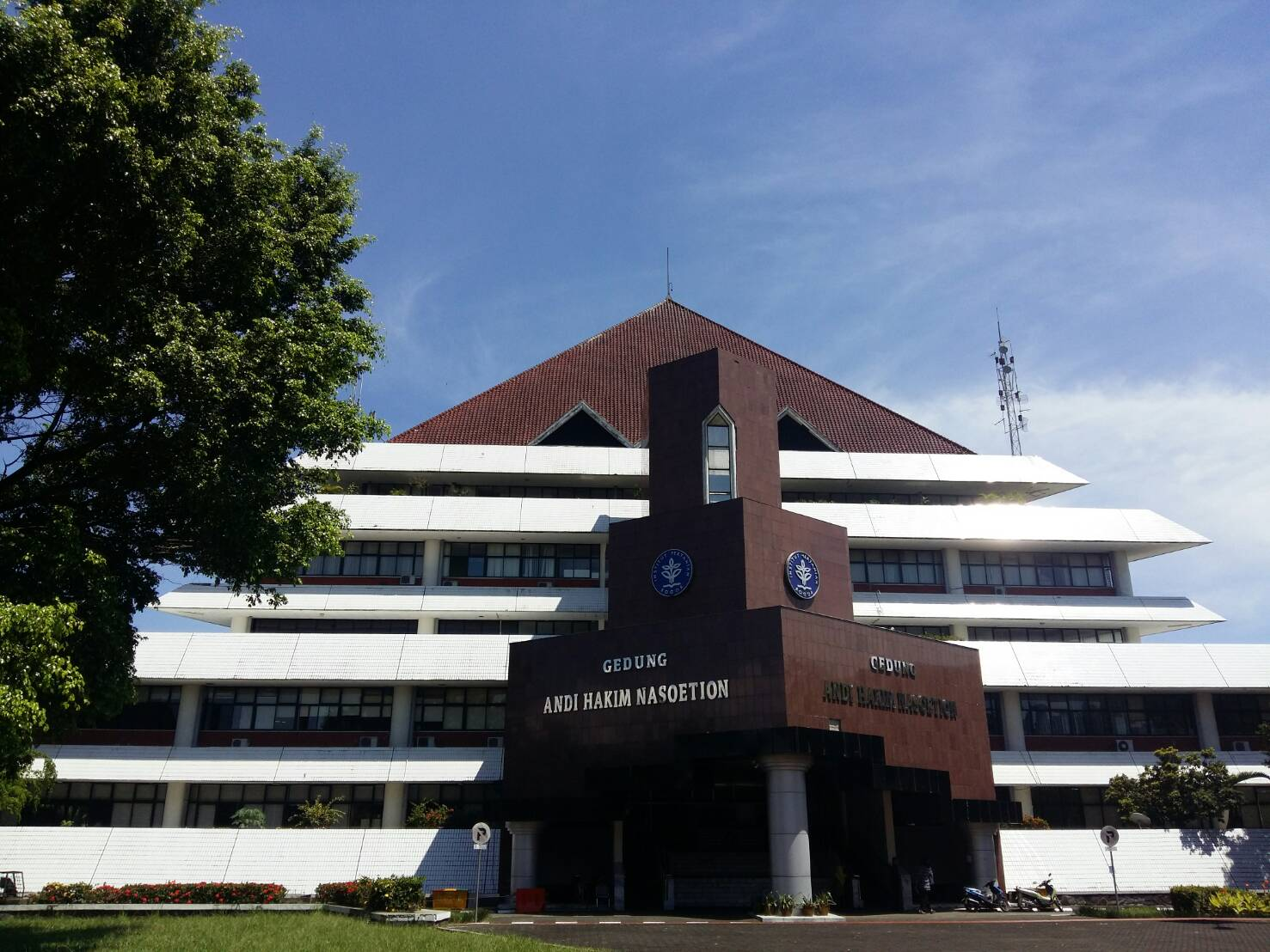 Rektorat IPB Gedung Andi Hakim Nasution
