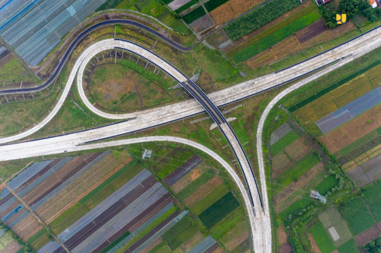 Ilustrasi pembangunan infrastruktur RI