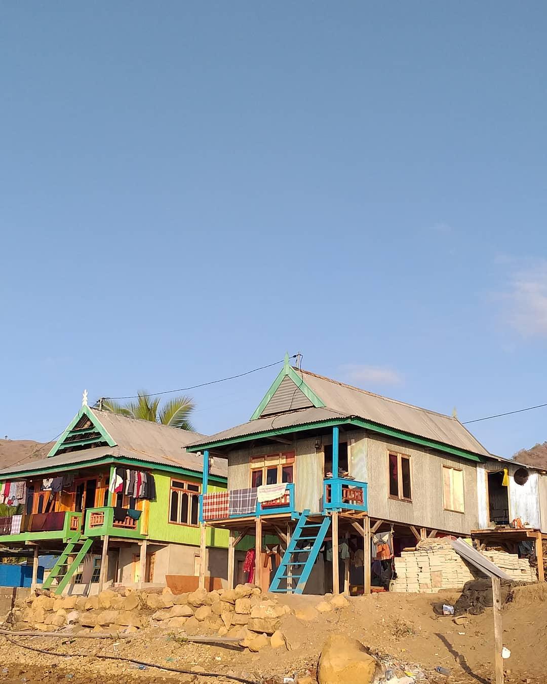 Rumah Ata Modo (Dok Pulau Komodo)