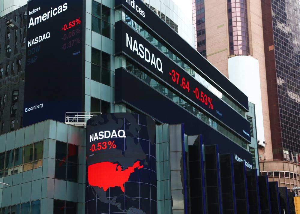 Nasdaq, salah satu bursa saham AS tempat Kredivo mulai IPO