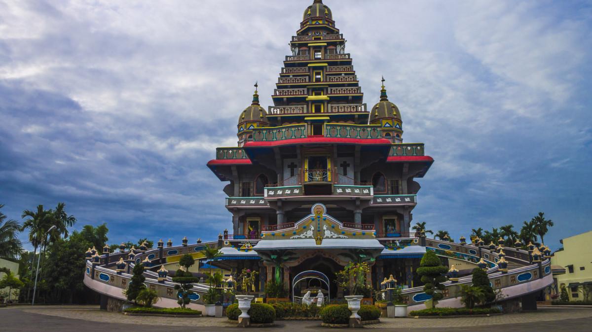 Gereja Maria Annai Velangkanni| Foto:Mister Aladin Blog