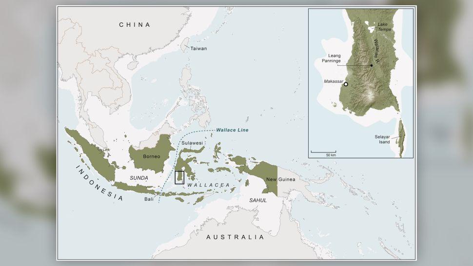 Wallacea and Sulawesi Selatan (inzet) | Kim Newman