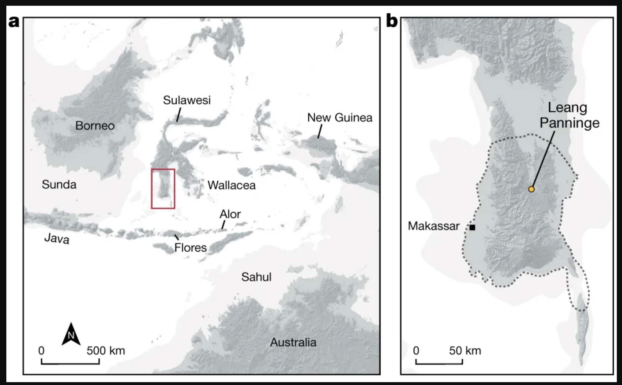 Kawasan Leang Paningnge| Carlhoff et al., Nature, 2021