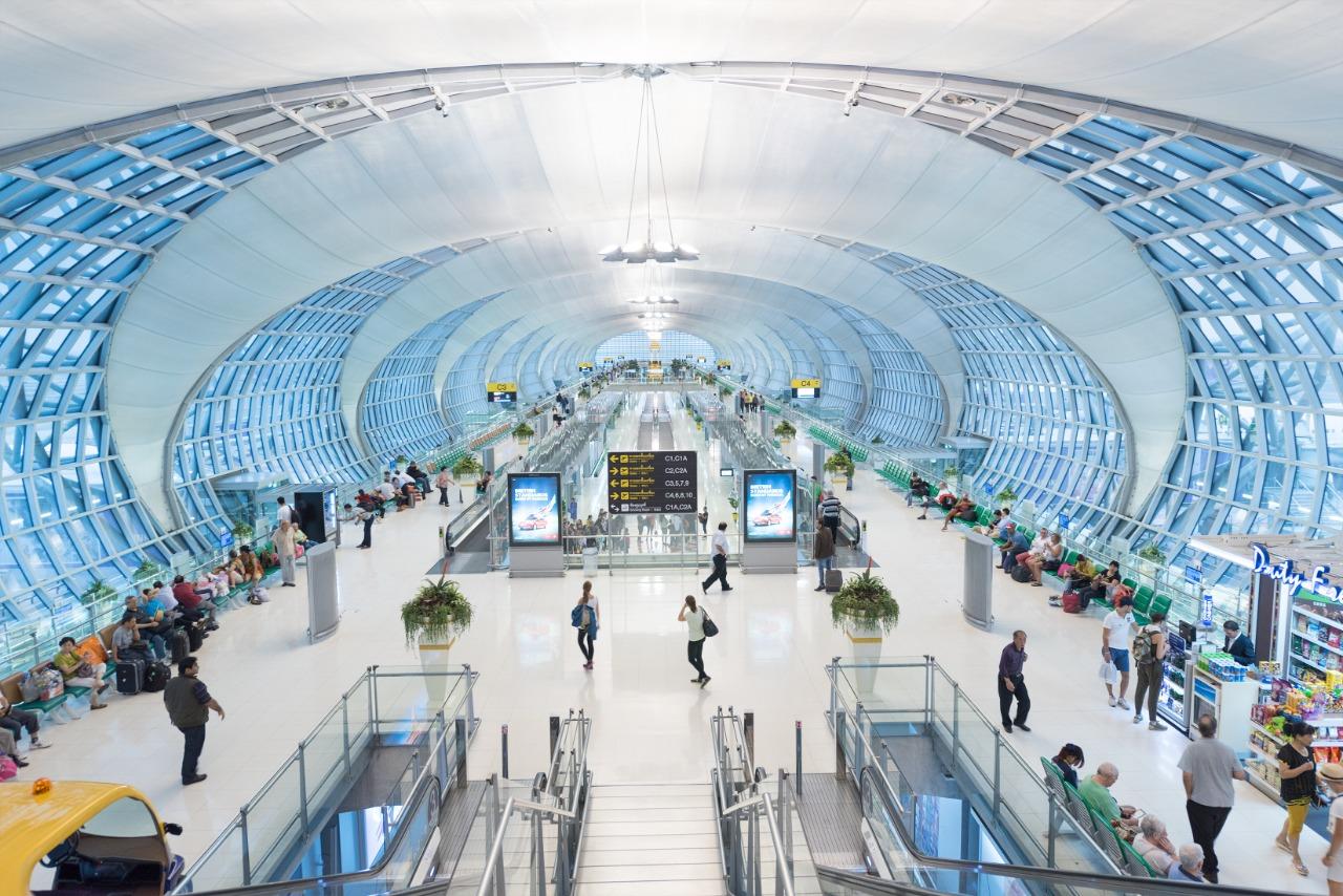 bandara Internasional Suvarnabhumi, Thailand   Pannawit T/Shutterstock