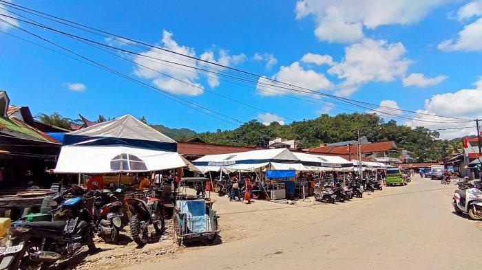 Pasar Makale   Foto: Tribunnews