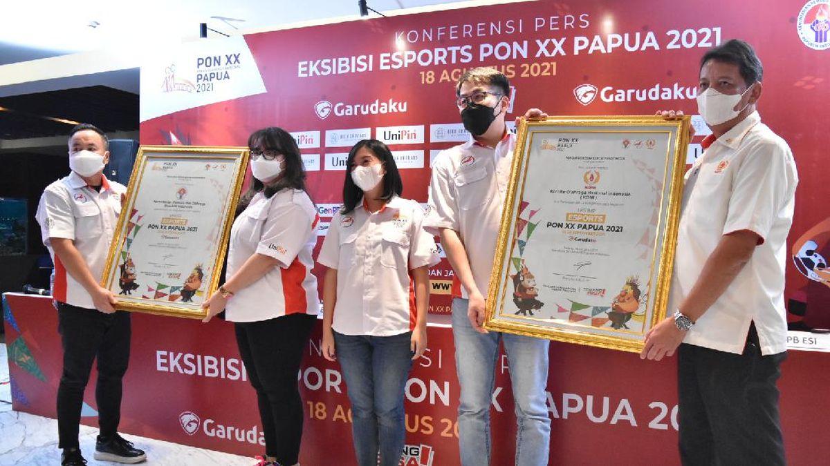 Esports Menjadi Cabang Olahraga yang Dipertandingkan di PON XX Papua 2021 (Foto: PB ESI)
