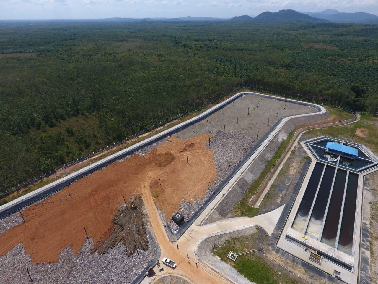 (TPA) Sampah Regional Banjarbakula, Kalimantan Selatan