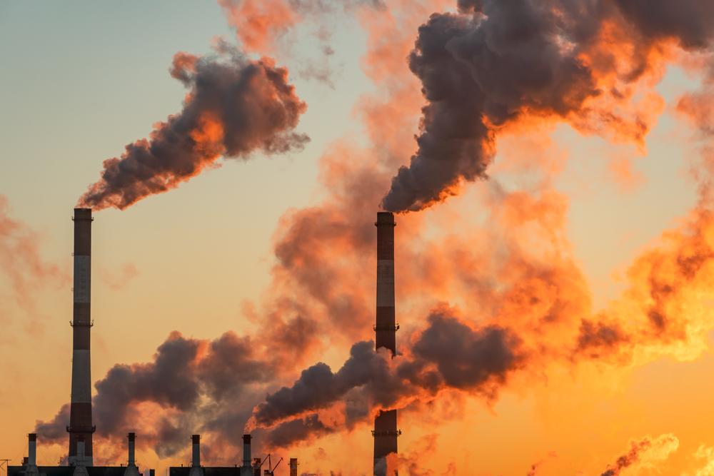 ilustrasi emisi karbon