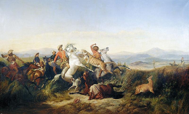 Perburuan Rusa (The Deer Hunt) | Foto: Wikimedia