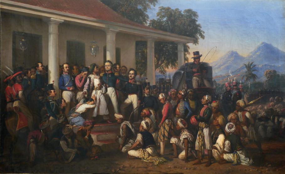 Penangkapan Pangeran Diponegoro (The Arrest of Diponegoro) | Foto: Jakarta Globe