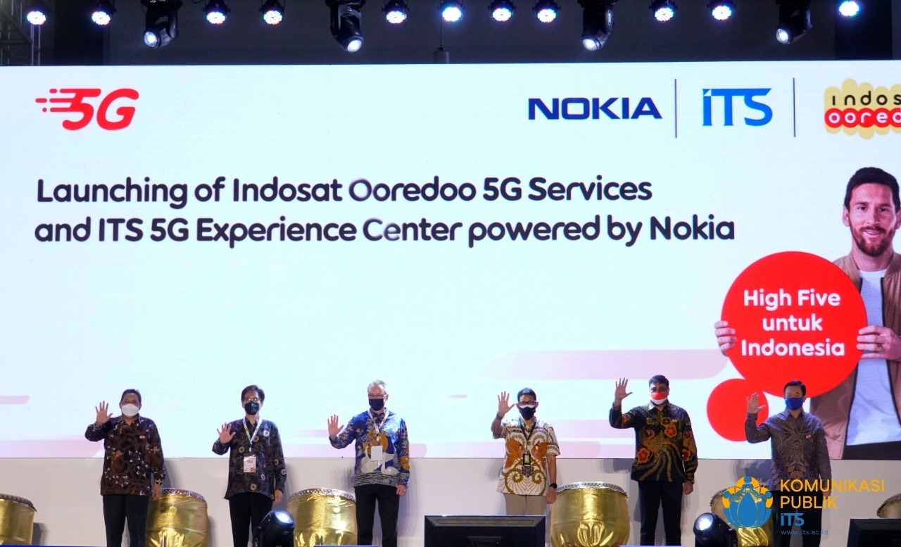Peluncuran ITS 5G Experience Center | Foto: ITS News