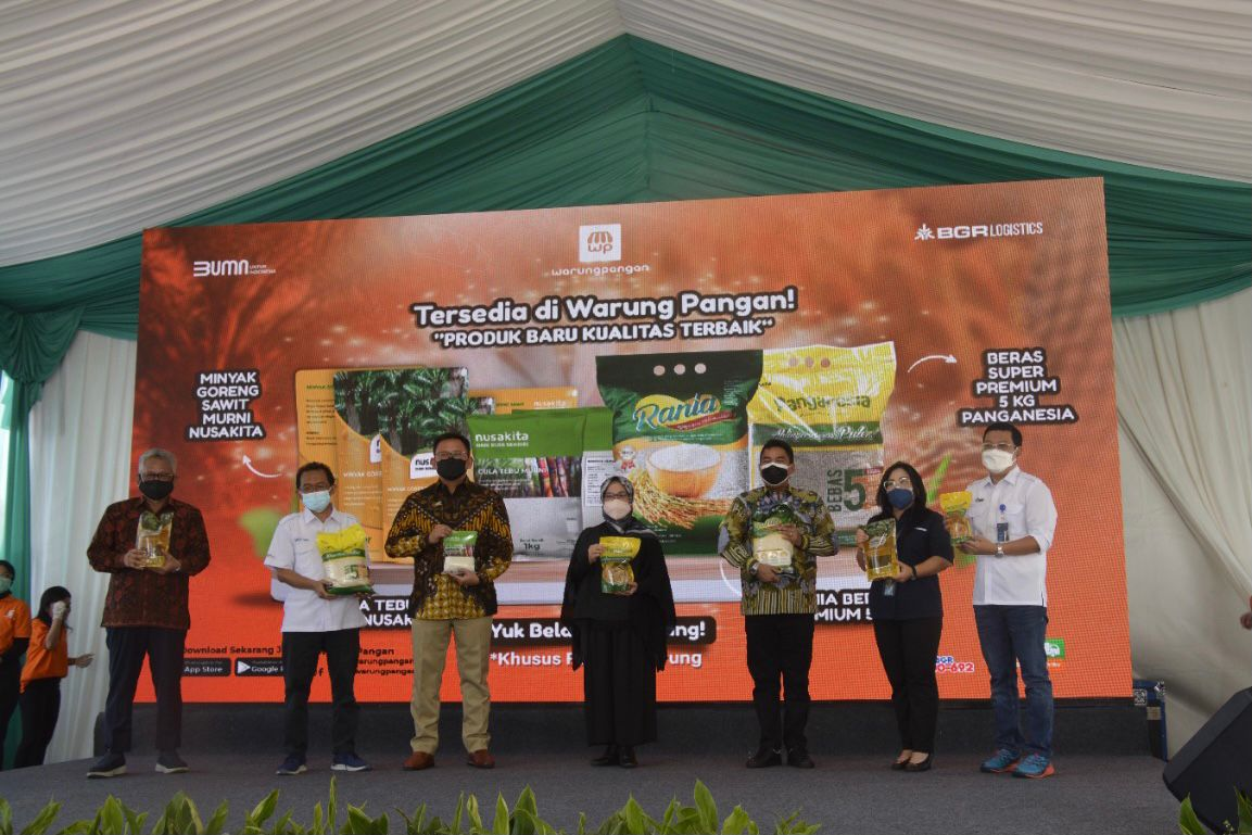 Peluncuran resmi aplikasi Warung Pangan