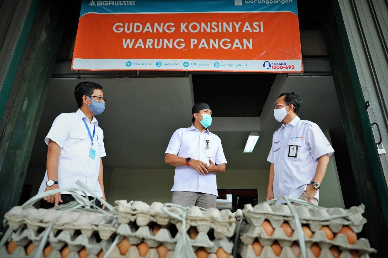 Gudang Warung Pangan di Jakarta