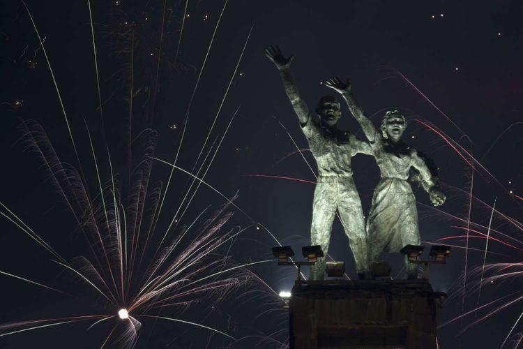 Monumen Selamat Datang   Foto: Antara Foto