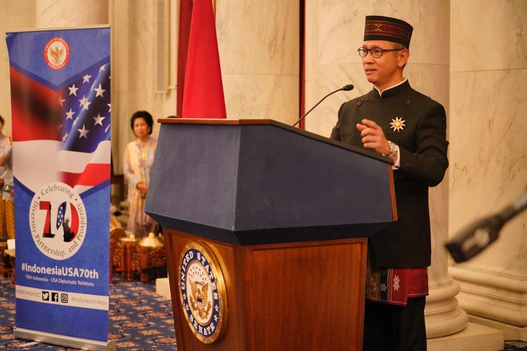 Diplomasi Indonesia di Gedung Senat AS   Foto: Kemlu.go.id