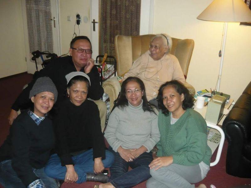 Pertemuan Francisca dengan anak-anaknya di Belanda