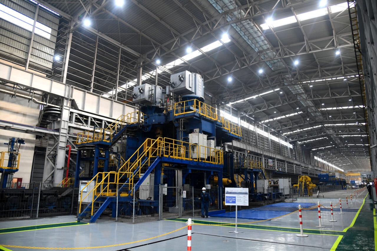 Pabrik baja HSM 2 Krakatau Steel
