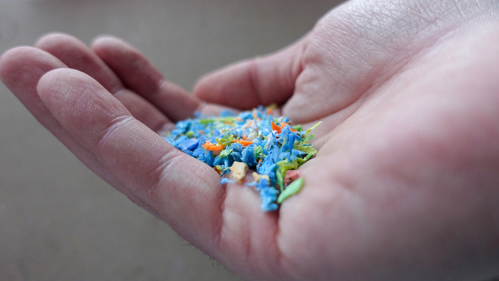Ilustrasi mikroplastik