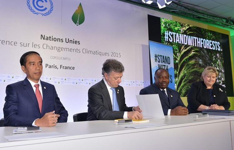 Indonesia dan upaya menghadapi permasalahan perubahan iklim secara global dan nasional
