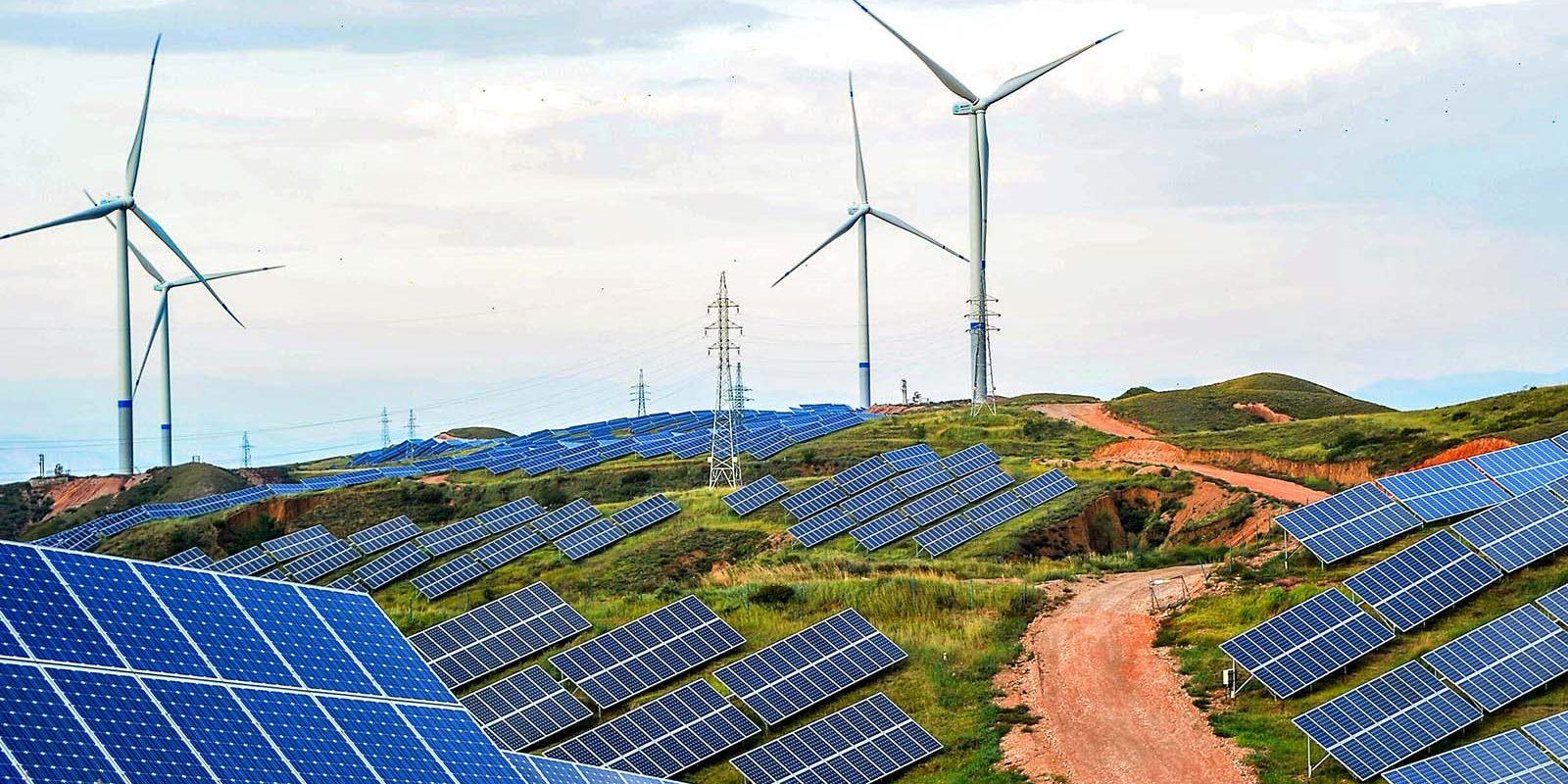Panel surya dalam praktik EBT