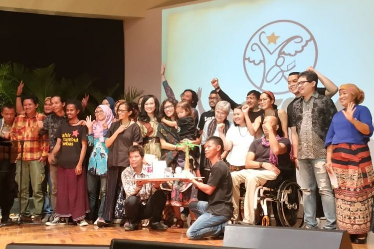 Perayaan 15 tahun Sokola Institute Merayakan Keberagaman Pendidikan di Jakarta (26/9/2018)| Foto: Dok. Kompas.com