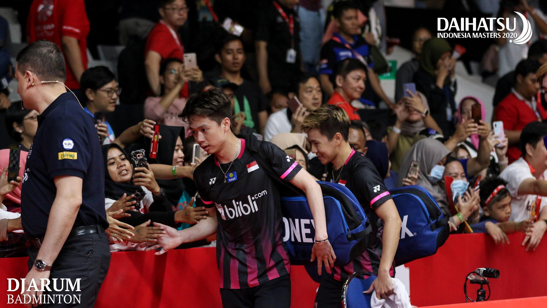 Daihatsu Indonesia Masters 2020 yang masih dihadiri penonton