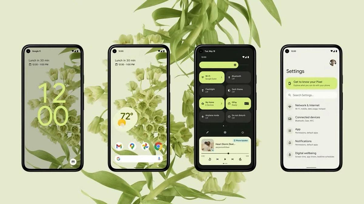 Tampilan baru UI Android 12