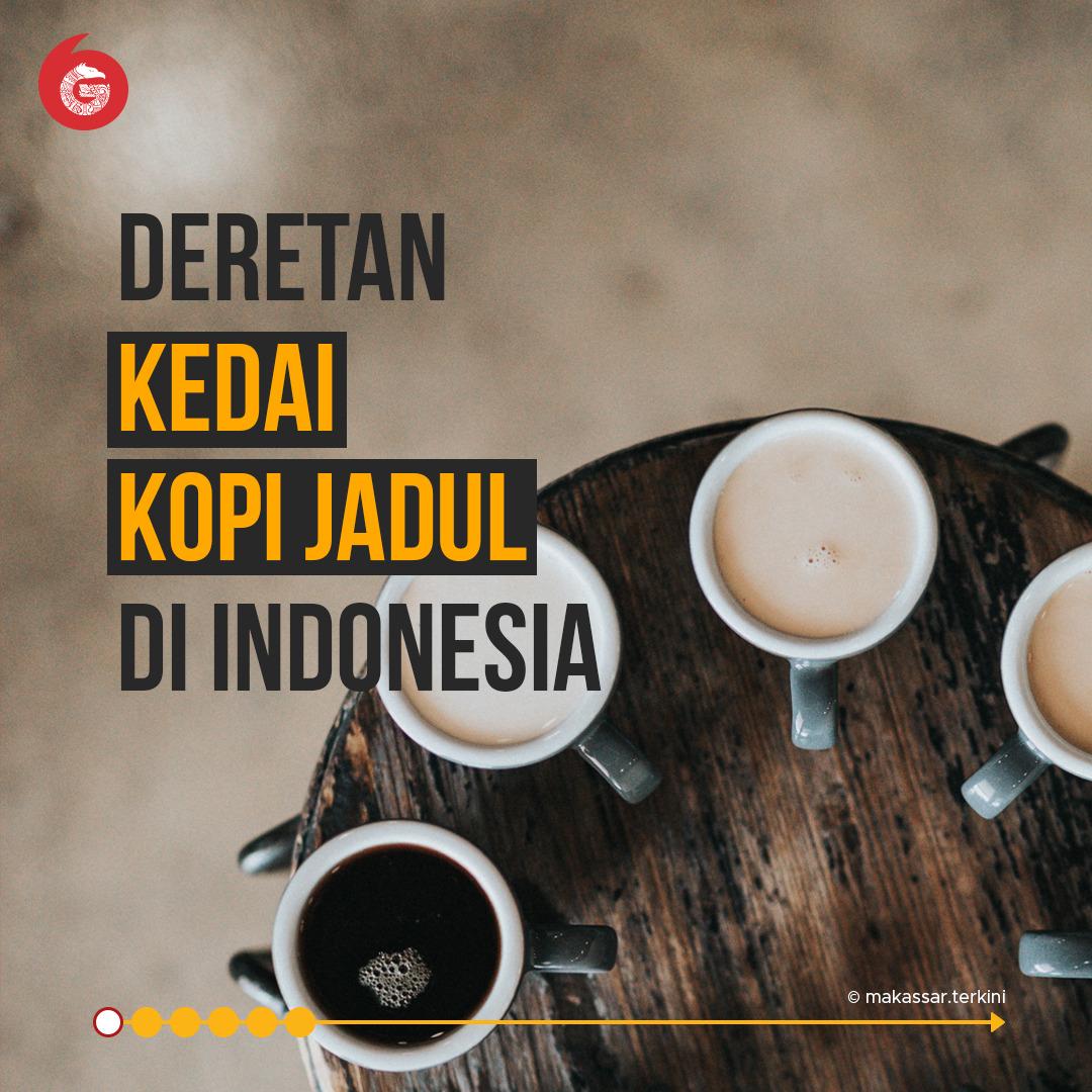 Deretan Kedai Kopi 'Jadul' di Indonesia   Good News From Indonesia